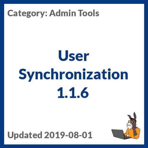 User Synchronization 1.1.6