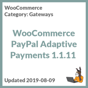 WooCommerce PayPal Adaptive Payments 1.1.11