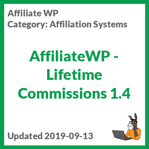 AffiliateWP - Lifetime Commissions
