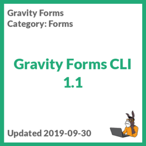 Gravity Forms CLI