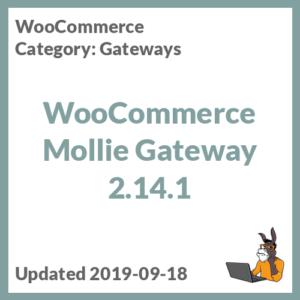 WooCommerce Mollie Gateway