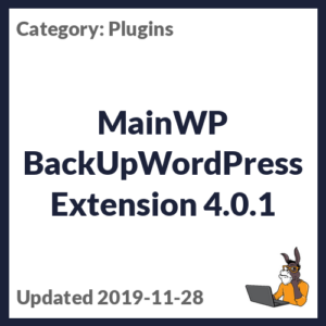 MainWP BackUpWordPress Extension