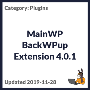 MainWP BackWPup Extension