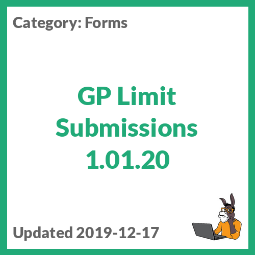 GP Limit Submissions