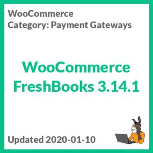 WooCommerce FreshBooks