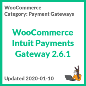 WooCommerce Intuit Payments Gateway