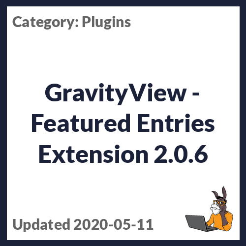 GravityView - Featured Entries Extension
