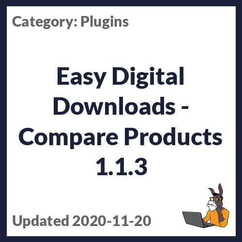 Easy Digital Downloads - Compare Products