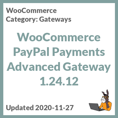 WooCommerce PayPal Payments Advanced Gateway