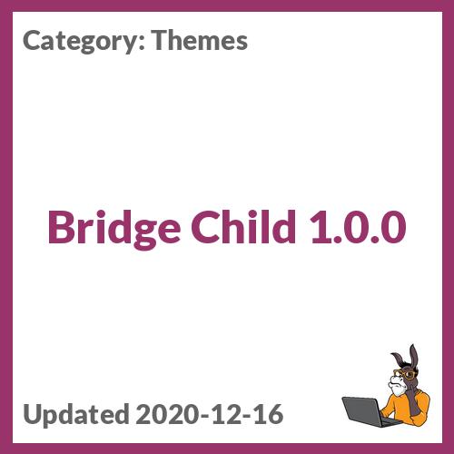 Bridge Child