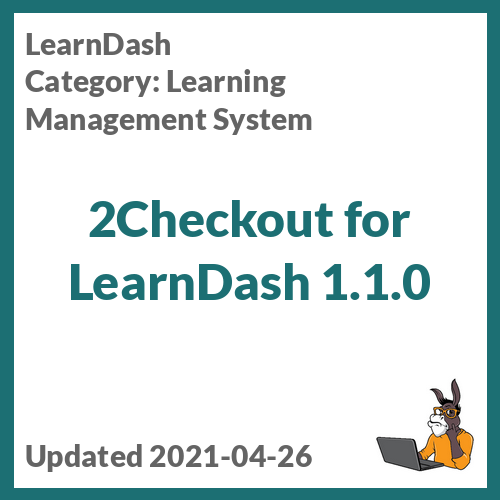 2Checkout for LearnDash