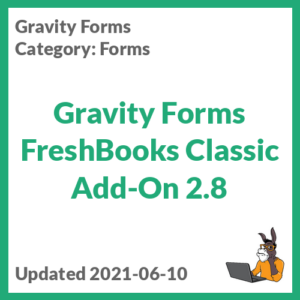 Gravity Forms FreshBooks Classic Add-On