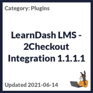 LearnDash LMS - 2Checkout Integration