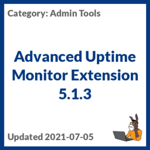 Advanced Uptime Monitor Extension