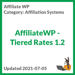 AffiliateWP - Tiered Rates