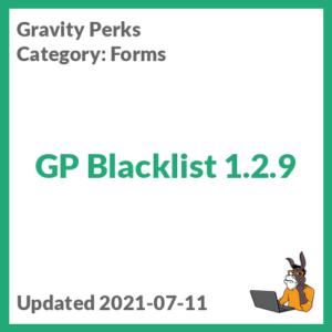 GP Blacklist