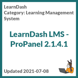 LearnDash LMS - ProPanel
