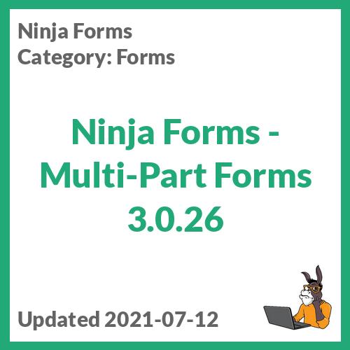 Ninja Forms - Multi-Part Forms